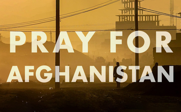 Pray For Afghanistan August 2021 Webanner Featured